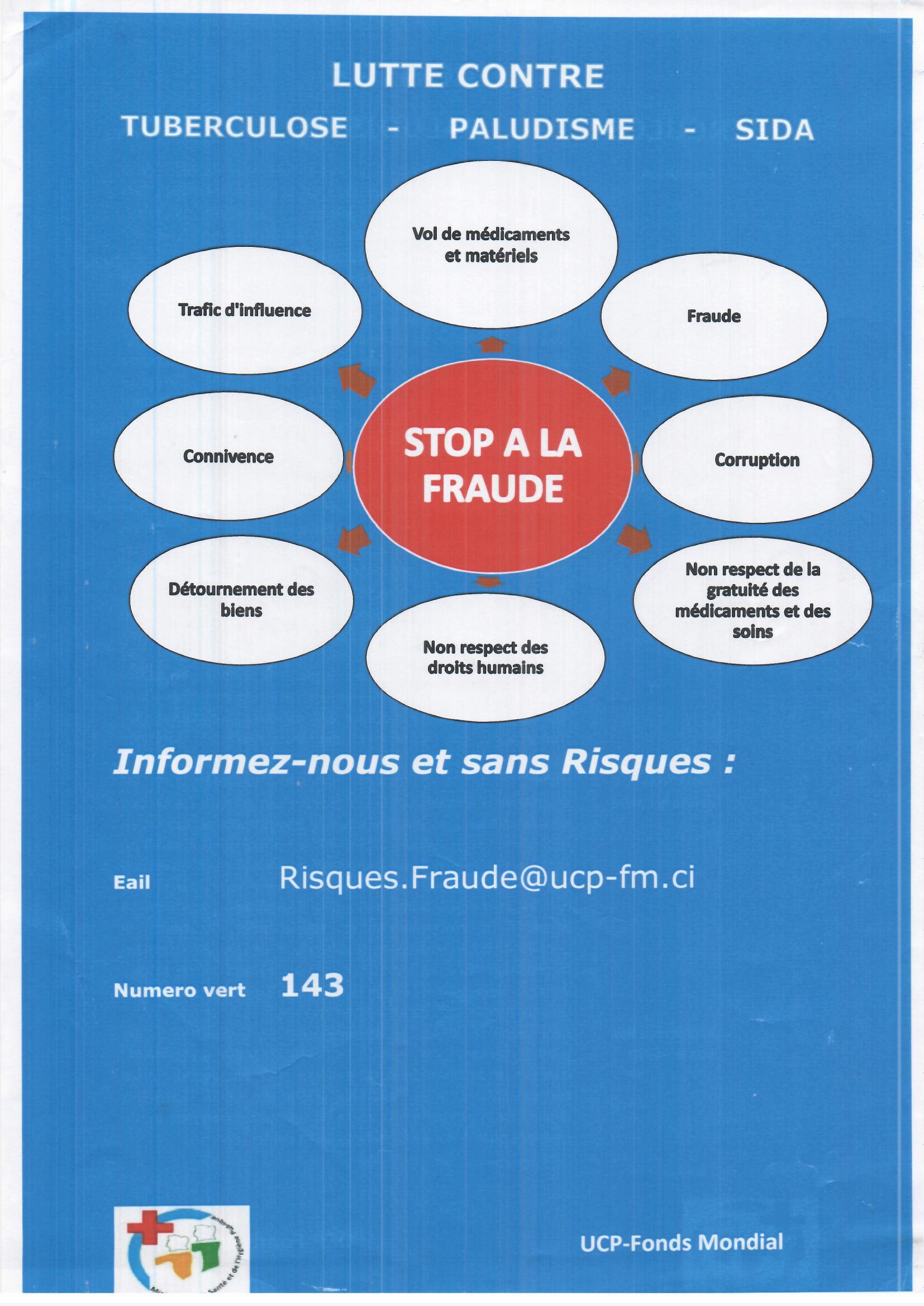 Campagne de sensibilisation contre la fraude